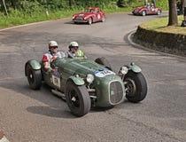HW亚尔他2000体育B1 (1949)在Mille Miglia 2016年 库存图片