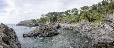 Hwanguji coast in Jeju Island Stock Photos