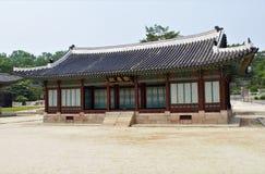 Hwangyeongjeon Pasillo en el palacio de Changgyeonggung, Seúl, Corea foto de archivo