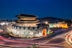 Hwaseong堡垒 免版税图库摄影