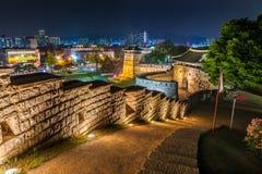 Hwaseong堡垒 免版税库存图片