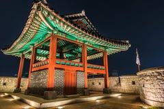 Hwaseong堡垒 库存图片