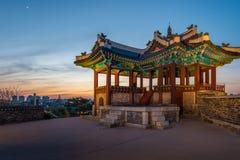 Hwaseong堡垒 免版税库存照片