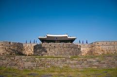 Hwaseong fästning Arkivbilder