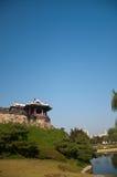 Hwaseong fästning Fotografering för Bildbyråer