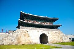 Hwaseong fästning Royaltyfri Foto