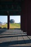 Hwaseong fästning Arkivfoto