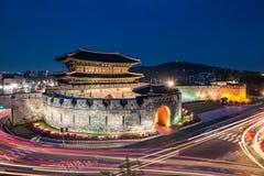 Hwaseong fästning Royaltyfri Fotografi