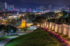 Hwaseong fästning Arkivbild