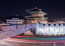 Hwaseong fästning Royaltyfri Bild