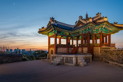 Hwaseong Festung Lizenzfreies Stockfoto