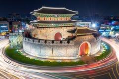 Hwaseong Forteca Obraz Stock