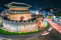 Hwaseong Forteca Zdjęcia Royalty Free