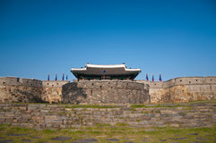 Hwaseong Fortress Stock Images