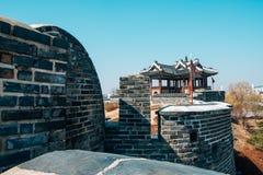 Hwaseong Fortress Banghwasuryujeong, Korean traditional architecture in Suwon, Korea. Hwaseong Fortress Banghwasuryujeong Korean traditional architecture in Stock Photos