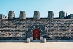 Hwaseong Fortress Bongdon, Korean traditional architecture in Suwon, Korea. Hwaseong Fortress Bongdon Korean traditional architecture in Suwon, Korea Royalty Free Stock Images
