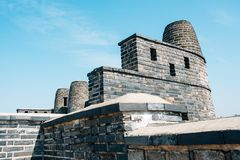 Hwaseong Fortress Bongdon, Korean traditional architecture in Suwon, Korea. Hwaseong Fortress Bongdon Korean traditional architecture in Suwon, Korea Royalty Free Stock Photo