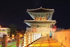 Hwaseong Fortress - Janganmun Gate Royalty Free Stock Image