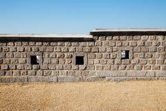 Hwaseong Fortress Korean traditional wall. Hwaseong Fortress Korean traditional stone wall Stock Photos