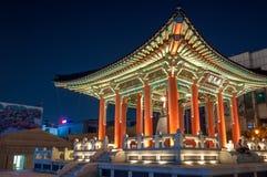 Hwaseong Fortress Stock Photo