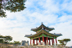 Hwaseong fortress in Suwon,Famous in Korea. Stock Photography