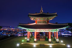 Hwaseong fortress in Suwon. Stock Photography