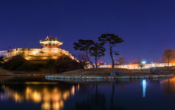 Hwaseong fortress in Suwon. Stock Photo