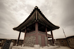 Hwaseong Fortress, Suwon, South Korea Royalty Free Stock Images