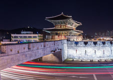 Hwaseong Fortress Royalty Free Stock Image