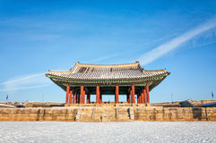 Hwaseong Fortress Stock Photography
