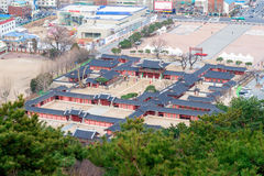 HWASEONG, SOUTH KOREA -  FEBRUARY 28 : Hwaseong is a fortress. Stock Photography