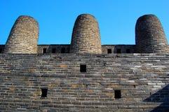 hwaseong suwon крепости 3 печных труб стоковое фото