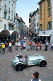 HWM Alta Jaguar at Mille Miglia 2015 stock image