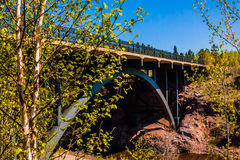 HWY 61 Bridge Stock Photography