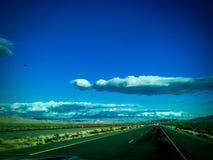 Hwy 50 in Nevada Dicht bij Austin stock afbeelding