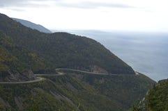 hwy scenisk trail för cabot Fotografering för Bildbyråer