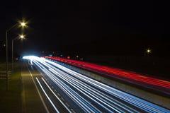 Hwy 401 trafik arkivfoto