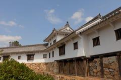 Hyakkenroka & x28; Förbindande Corridor& x29; av den Himeji slotten Japan Unesc Fotografering för Bildbyråer
