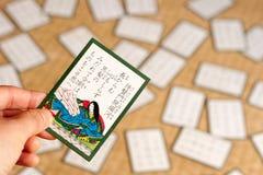Hyakunin Isshu Fotografia Stock