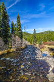 Hyalite Canyon Creek Royalty Free Stock Photo