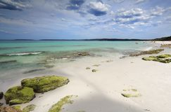 Hyams Beach Australia. Beautiful sands and crystal clear waters of Hyams Beach Jervis Bay Stock Images