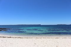 Hyams Beach at Booderee National Park Royalty Free Stock Photo