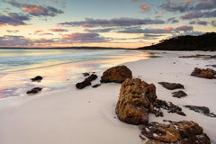 Hyams Beach Sunrise NSW Australia Stock Images