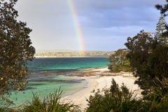 Hyamsstrand Australië stock afbeelding