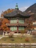 Hyangwon-Jeong Pavillion i Sydkorea Royaltyfria Foton