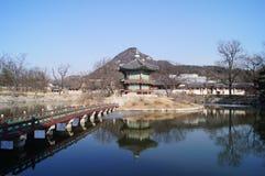 Hyangwonjeong Pavilian Imagens de Stock