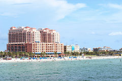 Hyatt Hotel Clearwater Beach Royalty Free Stock Images