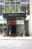 Hyatt Hotel Royalty Free Stock Photos