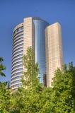 Hyatt Hotel, Santiago de Chile stock photo