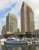 A Hyatt Manchester Grand Shot, San Diego royalty free stock photos